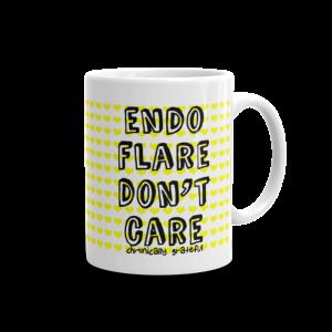 Endo Flare Don't Care Mug