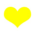 yellow heart